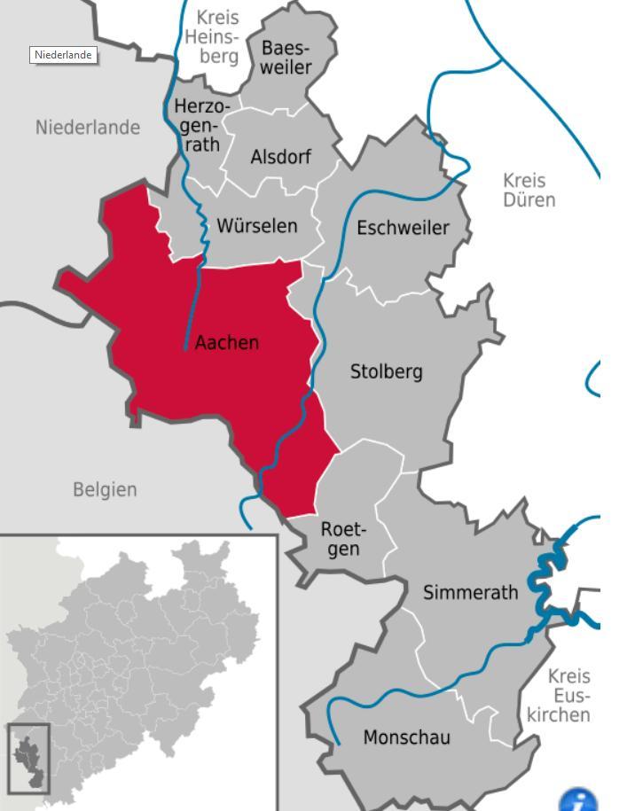 Πόλη του Άαχεν και της πόλης